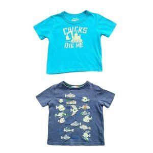 4/$30 Lot of Boys Short Sleeve T-Shirts size 3T
